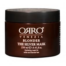 ORRO BLONDER Silver Mask - Серебряная маска для светлых волос 250мл