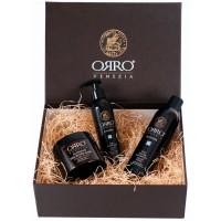 ORRO HOLIDAY SET BLONDER - Подарочный набор для Светлых волос (Шампунь + Маска + Серебрянный шёлк) 250 + 250 + 150мл